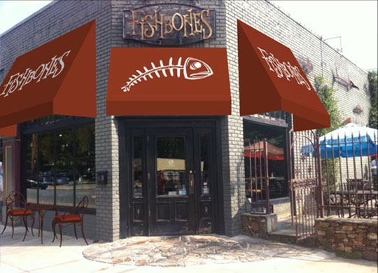 FishBones Commercial Awning